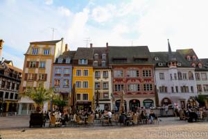 Mulhouse, in Alsazia (Francia)