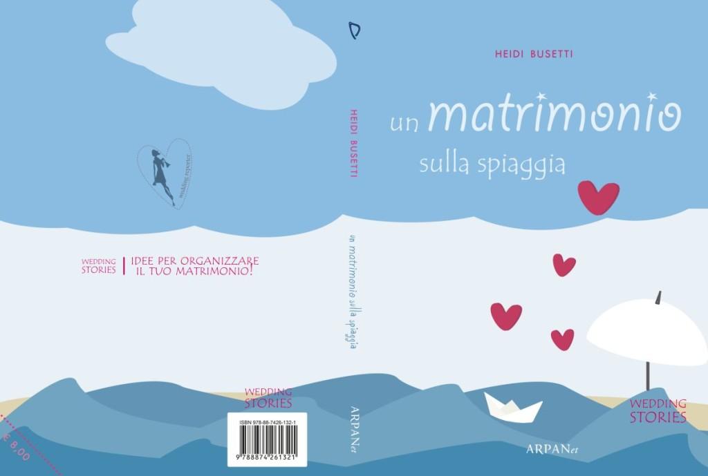 La copertina del romanzo Un matrimonio sulla spiaggia