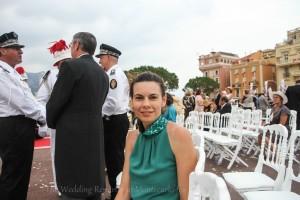 La Wedding Reporter Heidi Busetti a Monaco per il Princier Mariage